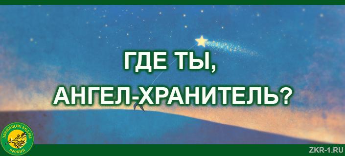 5 ГДЕ ТЫ, АНГЕЛ-ХРАНИТЕЛЬ