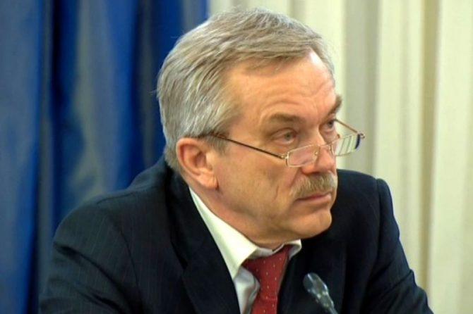 Губернатор Белгородской области Евгений Степанович Савченко